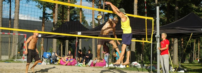 Norges Tour i Beachvolleyball 1.- 2. juni.